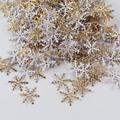 300 шт./лот снежинки, Рождественское украшение, подвесное украшение для рождественской елки, праздничный сад, Рождество, свадьвечерние ринка,...