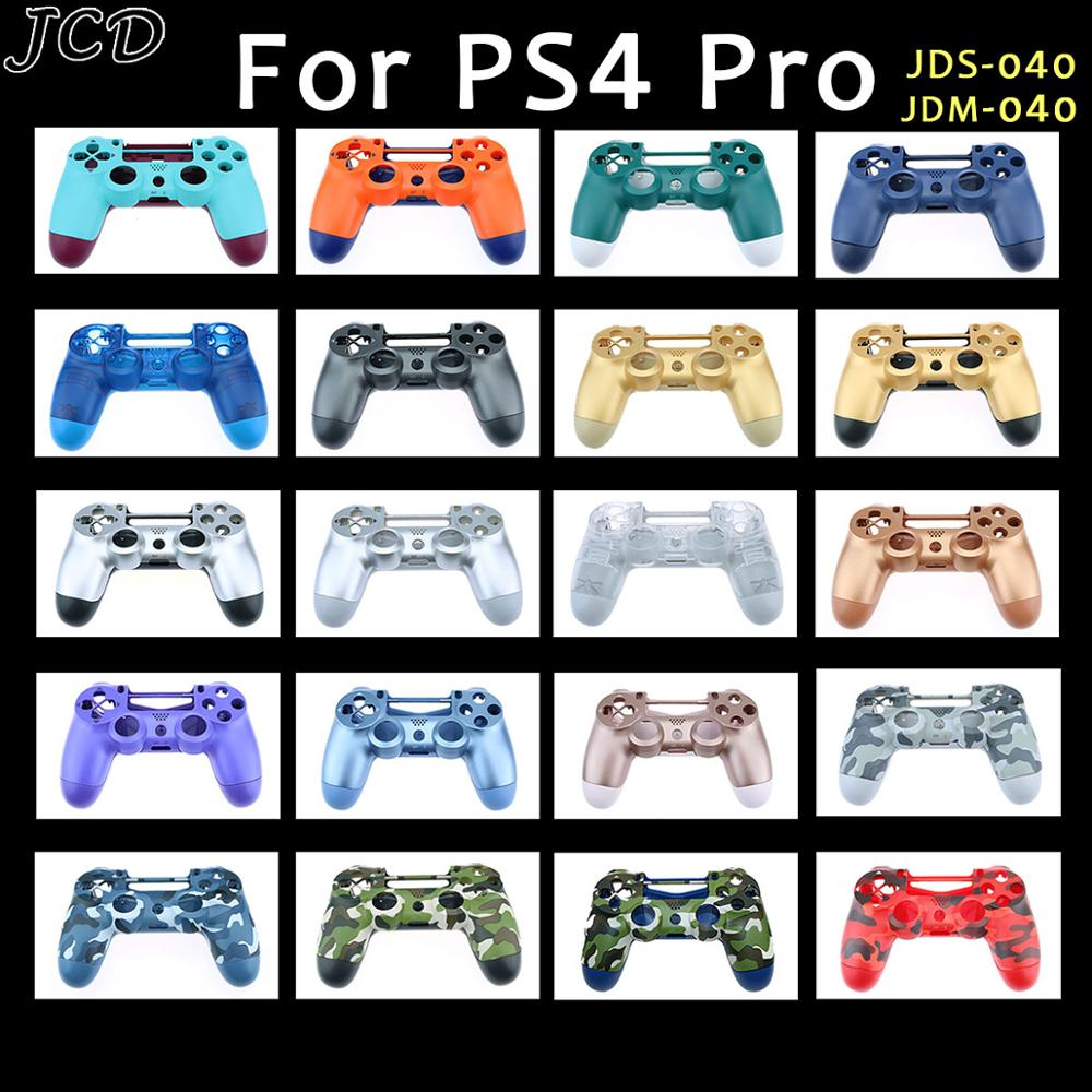 JCD DIY Plastic Housing Shell <font><b>Case</b></font> For Sony <font><b>PS4</b></font> Pro 4.0 jds 040 JDM 040 Wireless Controller Replacement <font><b>Case</b></font> Cover image