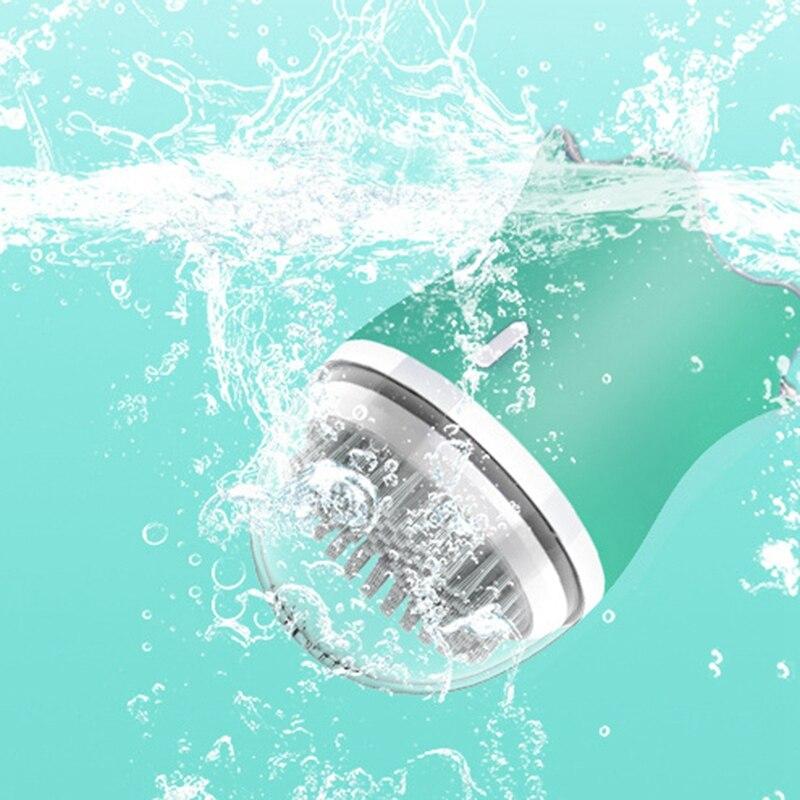 ABRA Очищающая щетка для лица для отшелушивания, электронная Очищающая щетка для лица с 3 режимами, умный таймер и мягкая щетина, Wate - 3