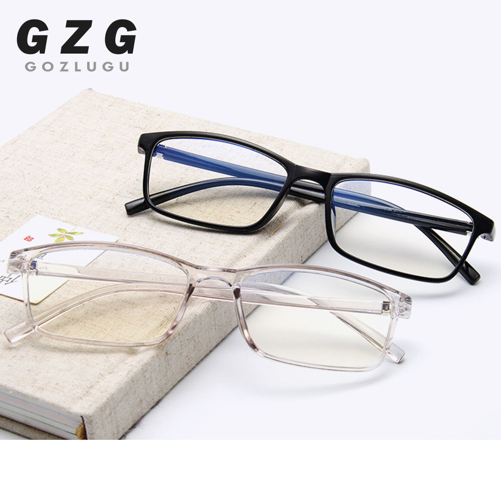 2019 New Anti Light Glasses Ray Blue Fashion Anti Blue Fatigue Protection Blocking Goggles Eye Square Radiation Computer