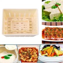 DIY пластик тофу пресс-форма для домашнего тофу плесень соевый творог тофу изготовление формы кухонный инструмент для приготовления пищи