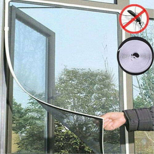 New Fashion HOT Magnetic Mesh Door Window Curtain Snap Net Guard Mosquito Fly Bug Insect Screen