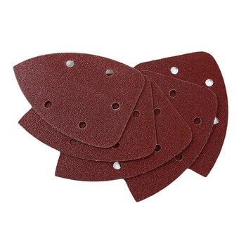 1 paquete de lijado de disco de papel de Palma lijadora de papel de lija gancho y bucle abrasivo herramientas abrasivas