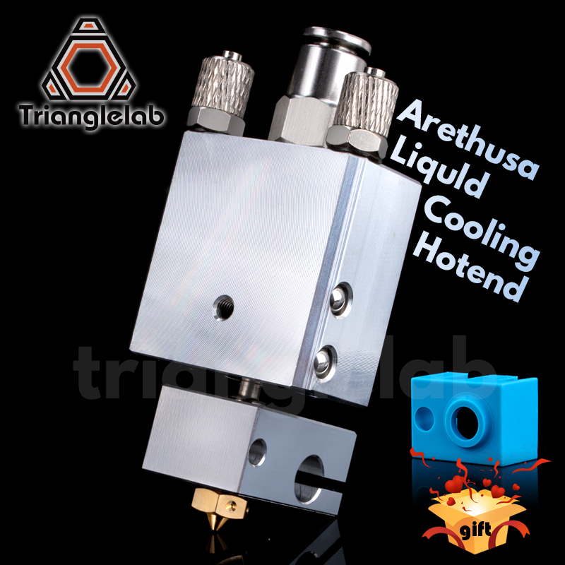 Trianglelab Arethusa liquld cooling hotend for 3D printing peek PA  filament  FOR E3D V6 HOTEND titan AQUA water cooling