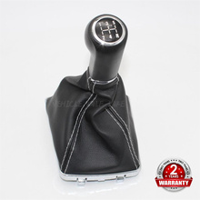 For OPEL ASTRA III H 1.6 VAUXHALL 2004 2005 2006 2007 2008 2009 2010 Car 5 / 6 Speed Gear Lever Shift Knob With Leather Boot