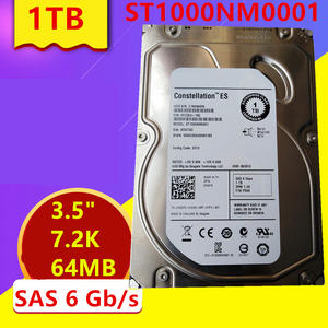 New HDD Server 7200RPM Internal Seagate/dell Hard-Disk 1TB SAS 64MB for Brand 6-Gb/s