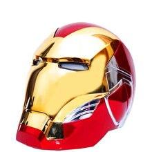 Wzp pong cattoys mk85 capacete 1/1 abs máscara cosplay para super herói figura de ação collectible modelo brinquedo crianças presente