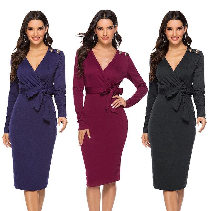 Autumn Winter Oversize Women Dress