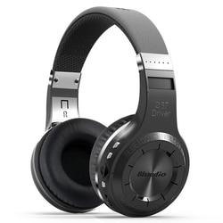 Bluedio H+ Wireless Headset Bluetooth Headphone Super Bass Stereo Support FM Radio TF Card Play Handsfree Microphone