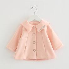 Детские пальто куртки одежда для младенцев 2020 новинка осень