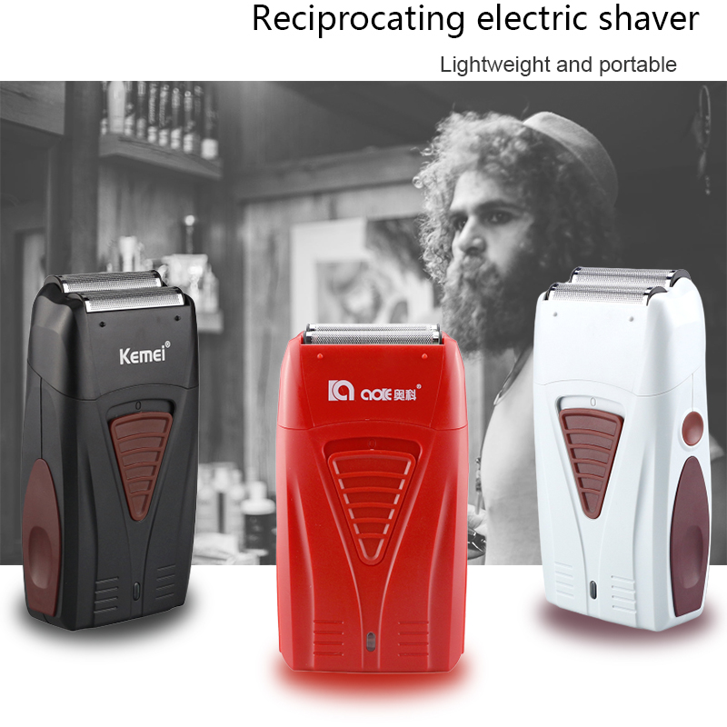 Baber Double-edged 4D Reciprocating Shaver Multifunctional Powerful USB Rechargeable Trimmer Men's Styling Tool