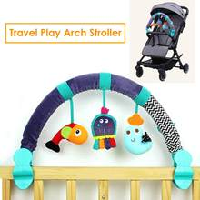 Baby Hanging Toys Stroller Bed Crib For Tots Cots Rattles Seat Plush Stroller Mobile Gifts Cartoon Animals Rattles(China)