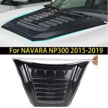 Couvercle de capot de ramassage, ABS noir, pour nissan navara np300 2015 2016 2017 2018 2019