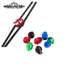 10pcs Archery Compound Bow Peep Sight 45/37 Degree Aluminum Alloy Material Recurve Compound Bow Accessories For Target Shooting compound bow press aluminum archery accessories for adjusting compound bow red color