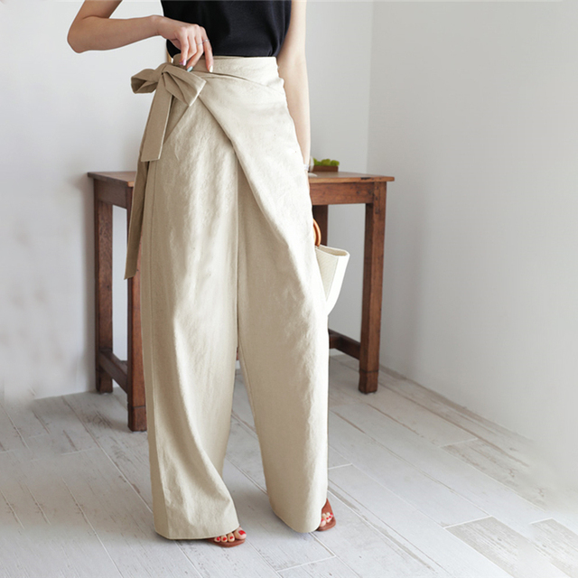 Elegant Solid Pants 3