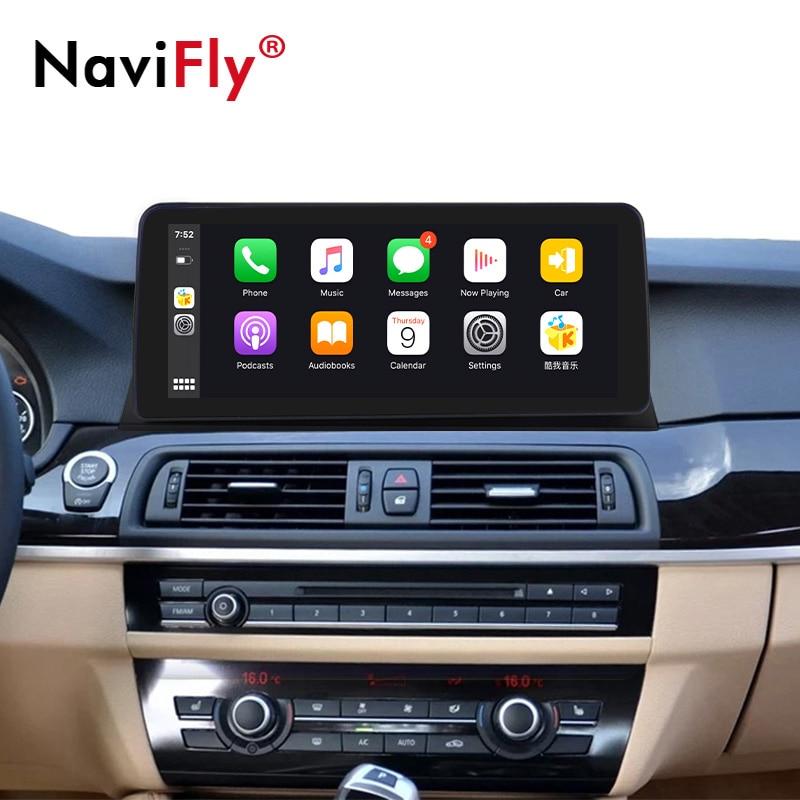 12.3 بوصة HD1920 * 720 4G LTE أندرويد 10 مشغل أسطوانات للسيارة BMW 5 سلسلة F10 F11 2010-2016 CIC NBT سيارة لتحديد المواقع والملاحة الوسائط المتعددة راديو f10