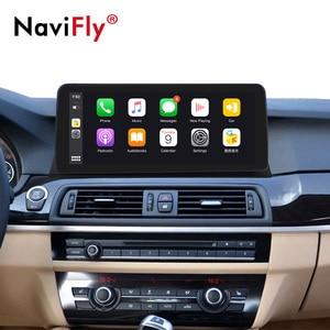 12.3inch HD1920*720 4G LTE Android 10 car dvd for BMW 5 Series F10 F11 2010-2016 CIC NBT Car GPS Navigation Multimedia Radio f10