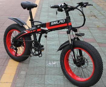 S9F Hot Sale Electric Bike 20 inch 750W/1000W motor 10AH battery folding electric bicycle 1