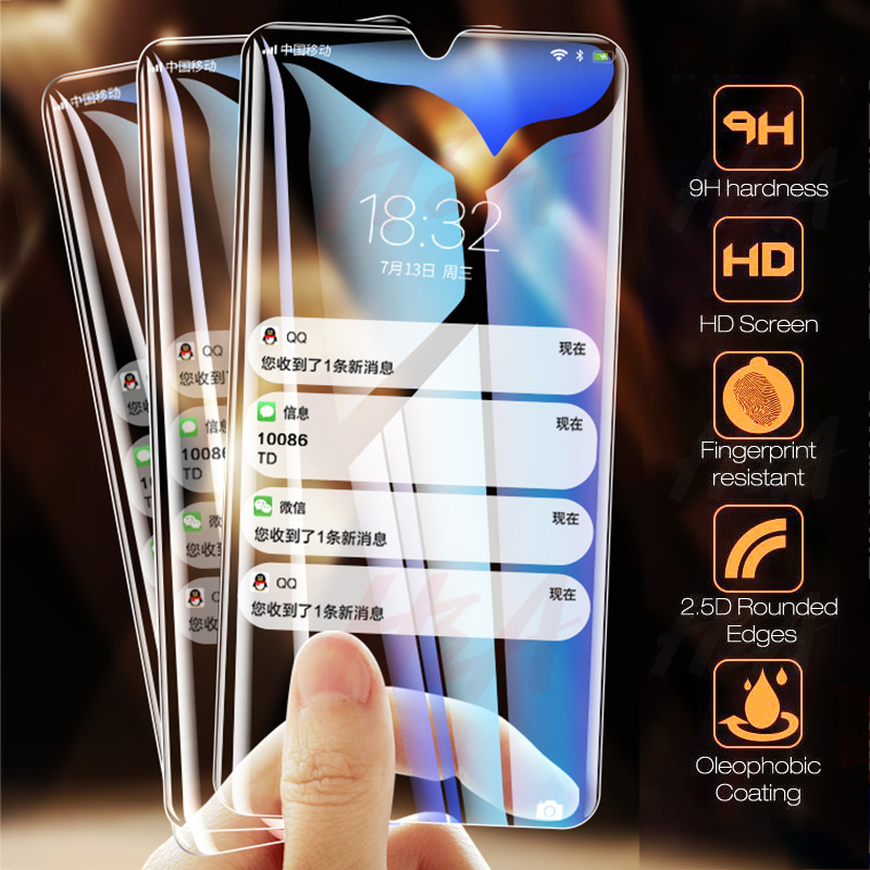 3Pcs Glass For Samsung Galaxy A20 A20E A40 A90 A70 A60 A50 A30 A10 Tempered Screen Protector M20 M30 Protective Glass Film