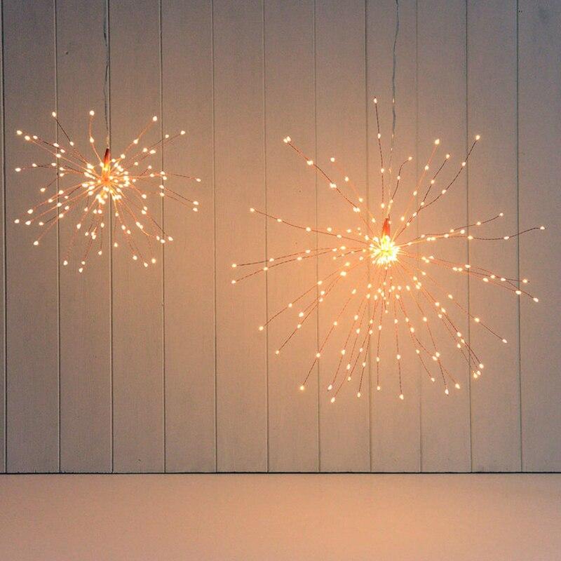luz corda dobrável guirlanda decorações ao ar livre
