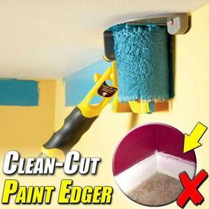 Многофункциональный ручной валик для очистки, желтая Расческа для дома, инструменты для очистки стен