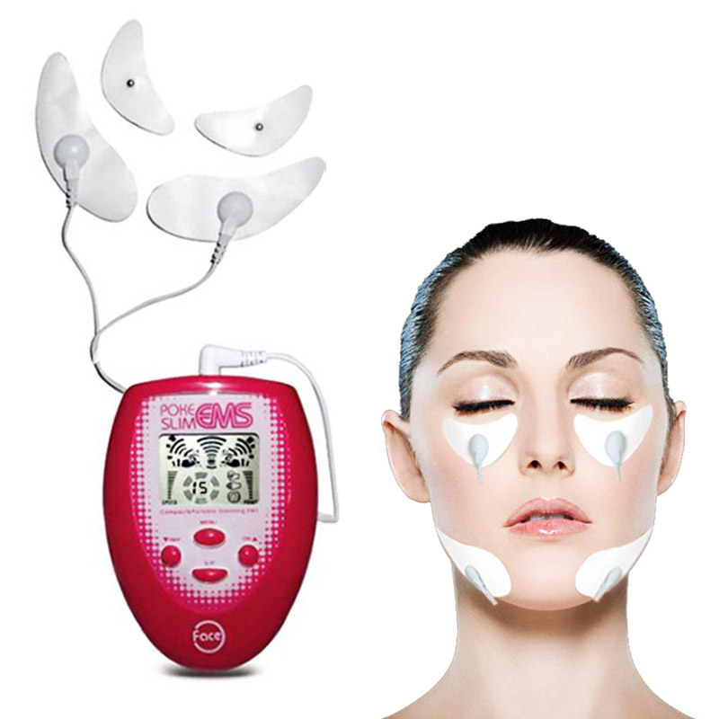 Systematic Slimming Tool Ems Tens Facial Lifting Jawline Muscle Face Massager Electronic Pulse Body Jaw Massage Muscle Stimulator Device Sophisticated Technologies