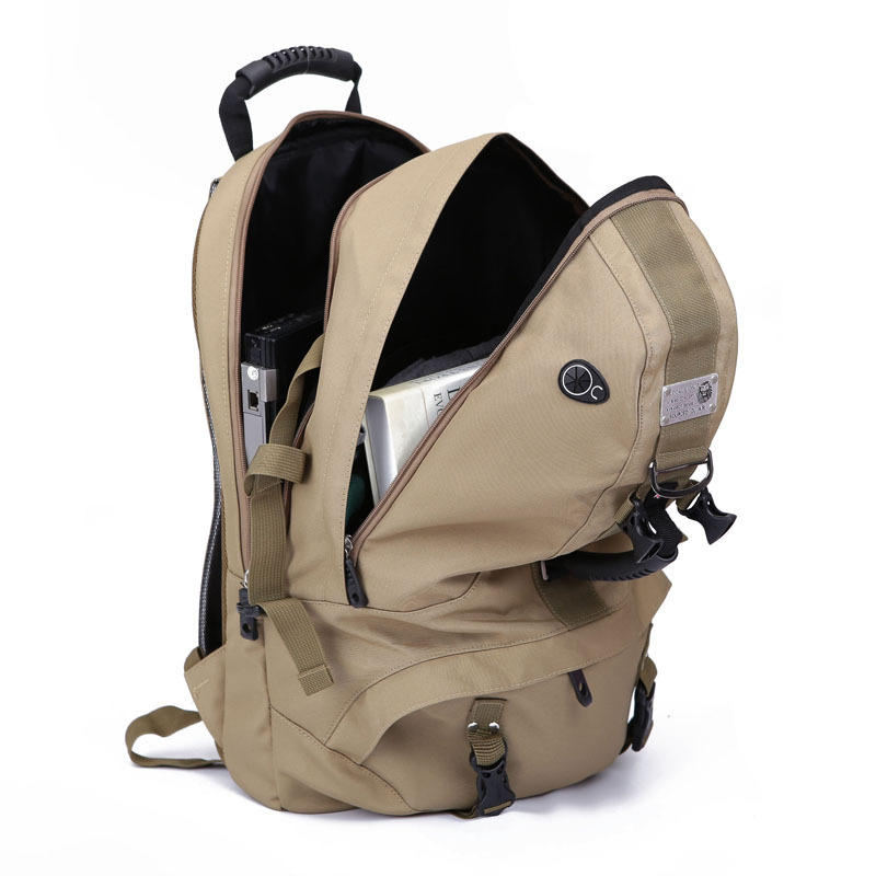 Men And Women Large Capacity Backpack Waterproof Riding Backpack Travel Hiking Mountaineering Bag