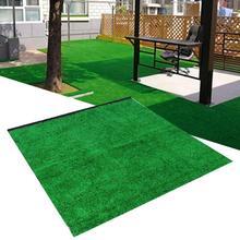 1 м x 1 м x 10 мм садовый пейзаж Толстая имитация газона искусственная трава газон ковер для искусственной травы поставки Прямая поставка