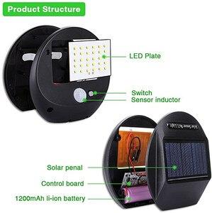 Image 4 - Solar Power PIR Motion Sensor Wall Light Outdoor Waterproof Energy Saving Street Yard Path Home Garden Security Lamp 30 LEDs
