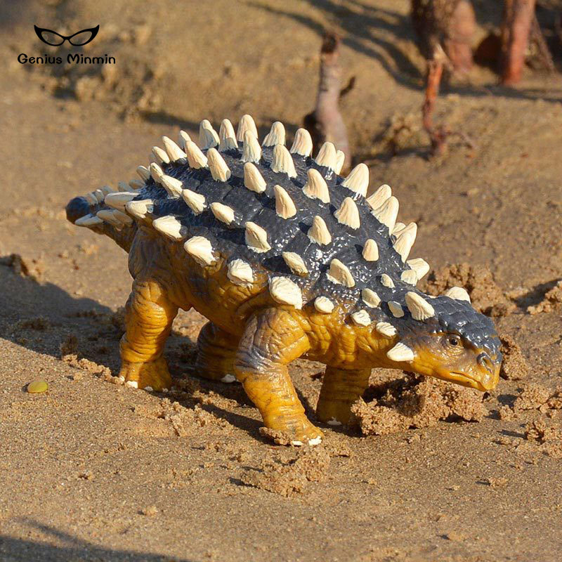 PVC solid simulation model Ankylosaurus dinosaur Jurassic World Wildlife Garage Kit toys for children