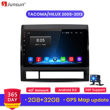 Junsun V1 2G + 32G Android 9.0 DSP untuk Toyota Tacoma/Hilux 2005-2013 Left Hand mobil Radio Multimedia Video Player GPS RDS 2 DIN DVD(China)