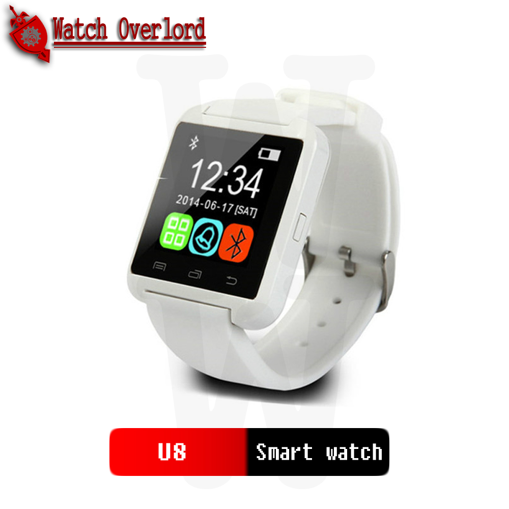 2020 Smartwatch Bluetooth Smart Watch U8 For iPhone IOS Android Smart Phone Wear Clock Wearable Device iphonewatch for Women Men