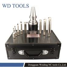 Bir set SK40   NBH2084 hassas delme sistemi + 8 adet sıkıcı bar