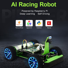 Ai-Kit Autonomous Raspberry Pi Deep-Learning-Self-Driving Robot Powered Racing by Acce