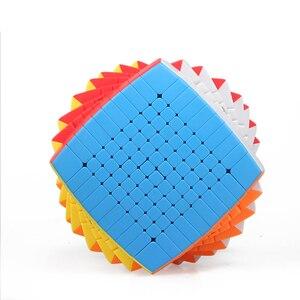 Image 2 - Neueste Magie Puzzle 10x10 Shengshou 10x10x10 Cubing Geschwindigkeit Stickerless 85mm professional Cubo Magico hohe Spielzeug für Kinder