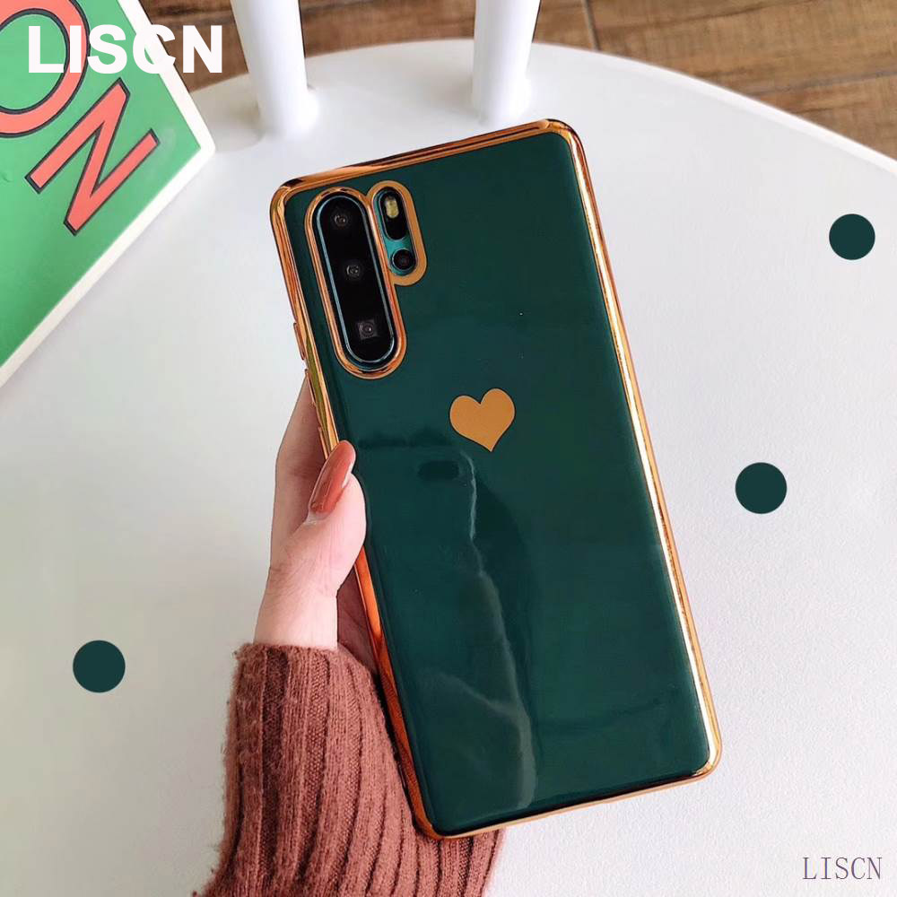 <font><b>Plating</b></font> Love Phone Case For <font><b>OPPO</b></font> F11 <font><b>Reno</b></font> Z K1 R15X RX17 NEO R17 R15 Pro RenoZ Soft <font><b>TPU</b></font> Silicone Back Cover RX17 NEO Funda image
