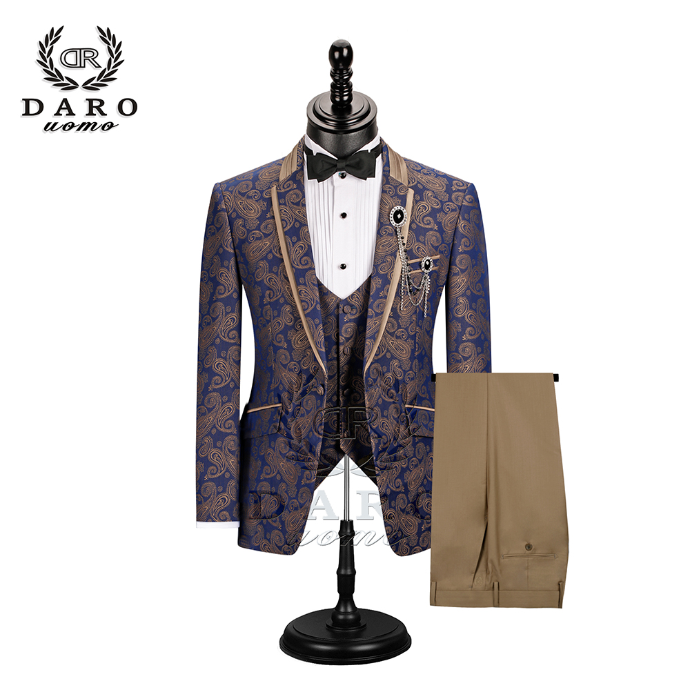 Black Red Blazer Slim Masculino Abiti Uomo 2019 Wedding Prom Blazers Single Button For Men Stylish Suit Jacket DR8196