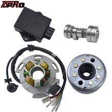 TDPRO Lifan 140cc 150cc Performance Racing Magneto Stator Rotor CDI Box Ignition Coil 4 Stroke Motorcycle Motor Engine Dirt Bike ac220 240v motor armature rotor engine for dewalt d28710 n085931