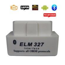 Xã ELM 327 OBDII Công Cụ Chẩn Đoán Elm327 Bluetooth V1.5 OBD2 Elm 327 V 1.5 OBD 2 Xe Ô Tô Tự Động Quét Chuẩn Đoán cho Android/PC