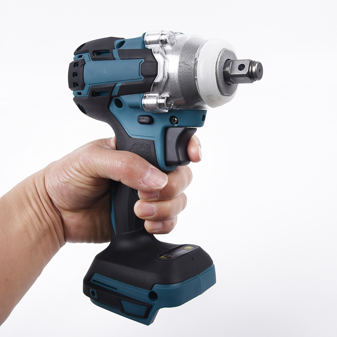 18V 1/2inch 520Nm Cordless  Impact Wrench Body Brushless Replacing Spare Parts|Electric Wrenches| |  - title=