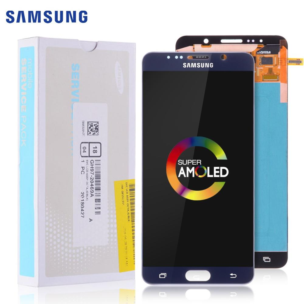 5.7'' AMOLED ORIGINAL LCD for SAMSUNG Galaxy Note 5 Display LCD Touch Screen for SAMSUNG Note 5 Note5 N920A N9200 SM-N920 N920C