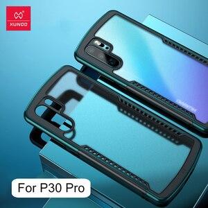 Image 5 - Xundd kılıfı için Huawei P30 Pro kılıf şeffaf kapak yumuşak geri monte koruyucu kapak kabuk için hava yastığı Huawei P30 Pro coque