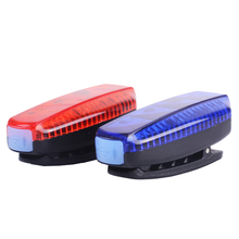 ZTTO LED Bicycle Tail Light Running Clip Bag USB Waterproof Outdoor Sports Li Battery Rechargeable Road Bike WR03