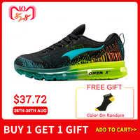 ONEMIX chaussures de course pour hommes baskets de sport pour femmes chaussures de marche athlétiques en maille respirante taille 35-47 pour les Sports de plein air Jogging