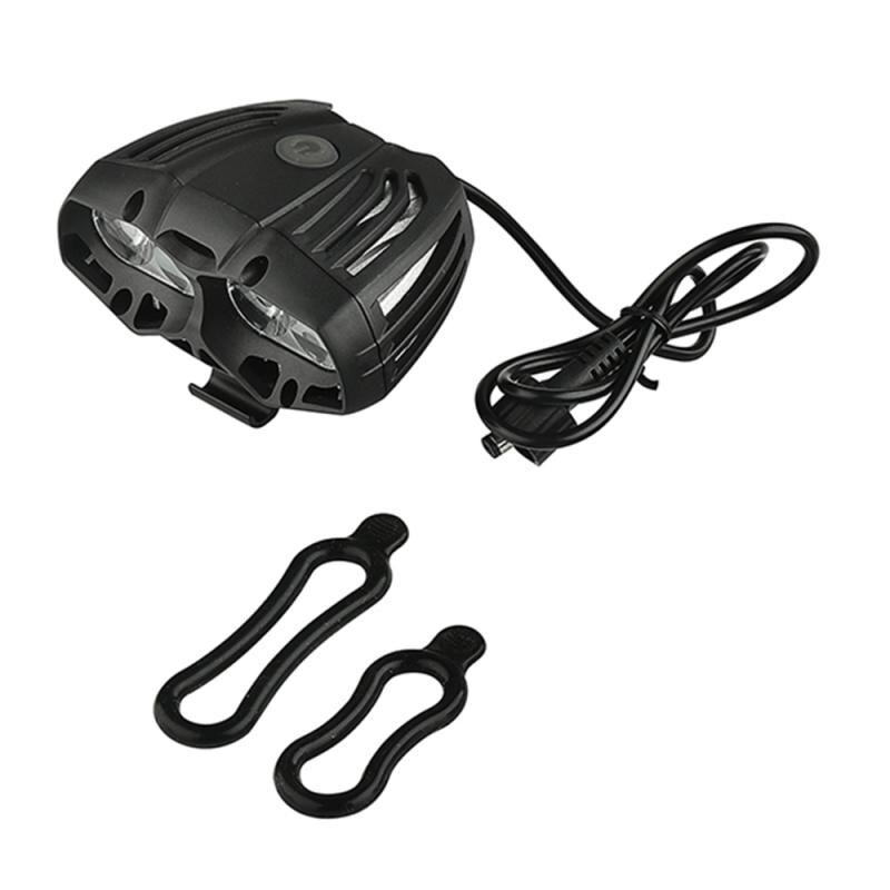 Велосипедный светильник, водонепроницаемый, USB 600LM, 4 X T6, светодиодный, передний светильник, налобный фонарь, головной светильник, 4 режима