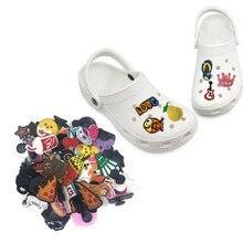 1000pcs Random Mixed PVC Shoe Charms Cartoon Shoe Accessories Shoe Buckles Decoration