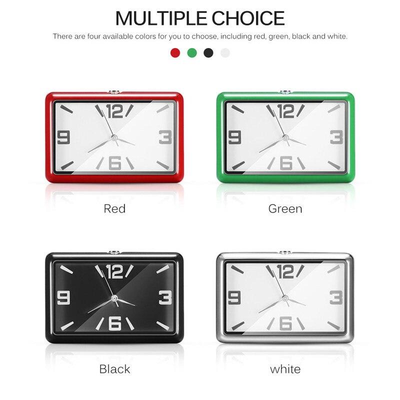 Car Clock Car Dashboard Paste Clock Quartz Watch Car Interior Decoration Clock Car Accessories for Girls