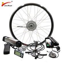 Bafang Ebike Conversion Kit 36V 250 W-500 W Front Motor Rad mit Samsung 12AH Lithium-Batterie für elektrische bike conversion kit