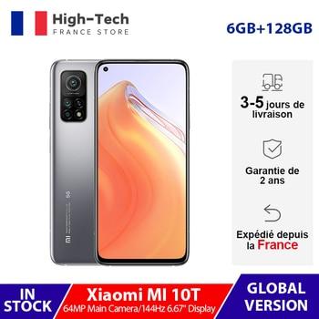 """Globale Version Xiaomi Mi 10 T 10 T 6GB 128GB 144Hz 6.67 """"DotDisplay Smartphone Snapdragon 865 64MP Hinten Triple Kamera 5G 5000mAh"""
