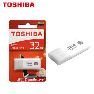 Image 5 - 100% מקורי TOSHIBA U301 USB 3.0 דיסק און קי 32gb עט כונן מיני זיכרון מקל Pendrive U דיסק לבן אגודל פלאש דיסק